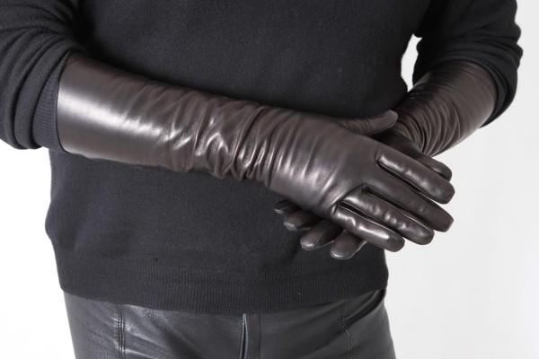 Lange Herren Lederhandschuhe