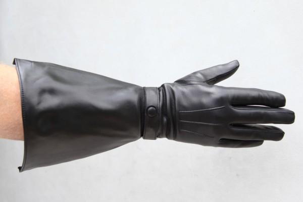 Herren Musketier Lederhandschuhe ohne Futter